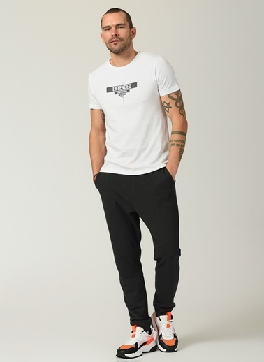 People By Fabrika Erkek  Sweatpant PFESS21EI0002 Antrasit